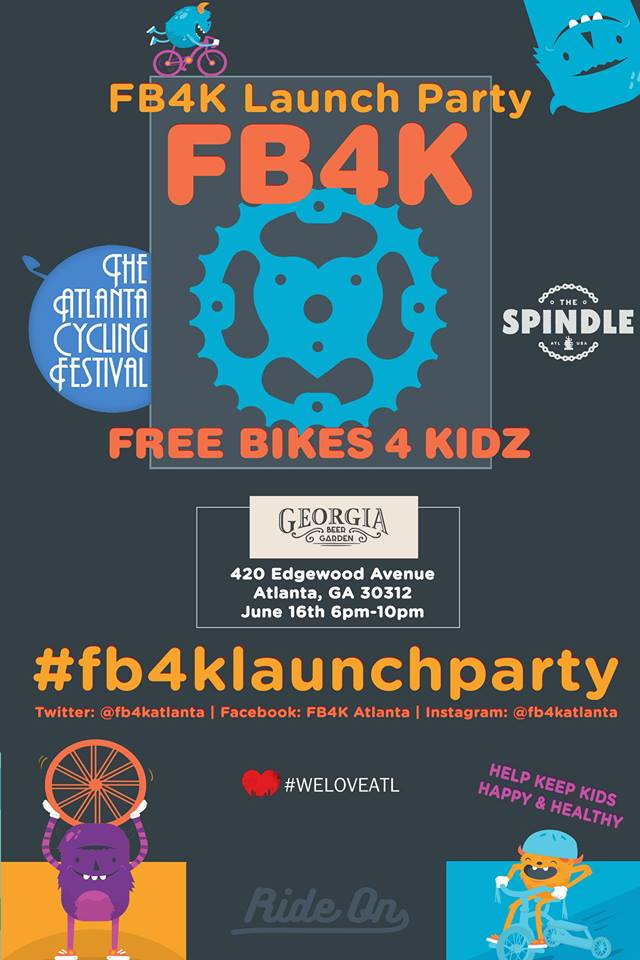 Free Bikes 4 Kidz Launch Party
